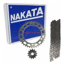 Kit Relação Yamaha Xtz 150 Crosser Nakata Tm 10235