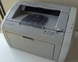 Título do anúncio: impressora hp laser 1020 otimo estado