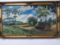Quadro Germano Koch óleo sobre tela