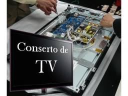 Consertos de televisão,Computador e Microondas Com Garantia