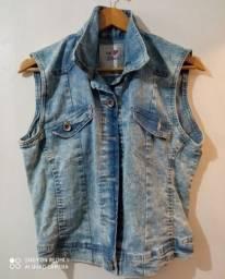 Colete jeans Marisa