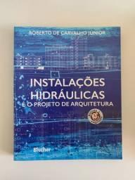 Livros instalações hidráulicas e elétricas