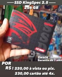 Ssd KingSpec 256 gb Novo, com garantia