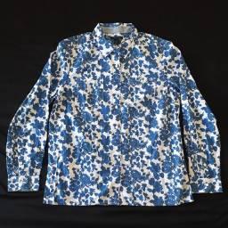 Camisa Social Tommy Hilfiger Azul/Branca Masculina Juvenil Nova Original