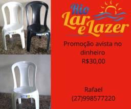 Cadeira sem braço plastico