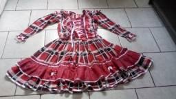 Vestidos saias e camisas pra festa junina