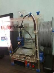 Impressora 3d montada