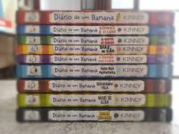 Coleção diário de um banana 9 livros
