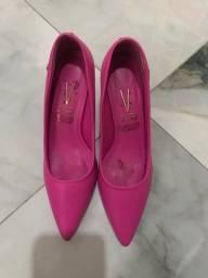 Scarpin rosa pink vizzano - tam 39