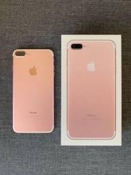 iPhone 7plus 128gb rose