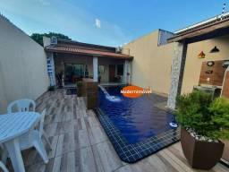 Casa com área de lazer com piscina, cascata, churrasqueira - Águas Claras