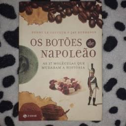 Título do anúncio: Livro - Os botões de Napoleão.