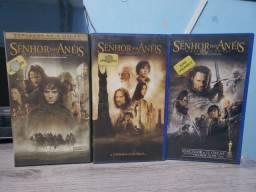 Senhor dos anéis trilogia VHS
