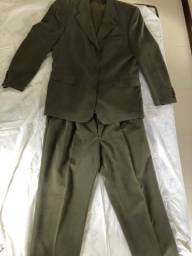 PROMOÇÃO!! Terno e calça social verdes musgo masculinos Modal!!