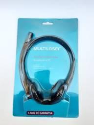 Fone De Ouvido Com Microfone Headset Call Center Atendimento home office