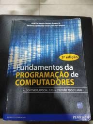 Livro Fundamentos da programacao de computadores
