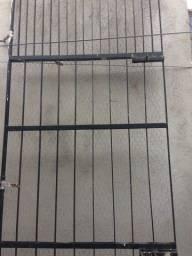 Título do anúncio: Portão barra de ferro achatado
