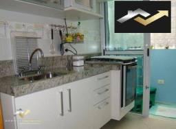Sobrado com 2 dormitórios à venda, 96 m² por R$ 400.000 - Vila Bastos - Santo André/SP