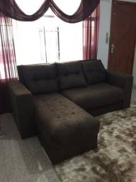 Sofá com chaise (novo) sob encomenda