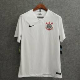 1b5b6cdd9c Camisa Corinthians I 2018 S n° Torcedor Nike Masculina