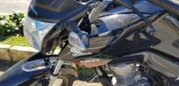 Honda CG 160 Fan ESDI 2017/2018 com freio combinado CBS - 2018