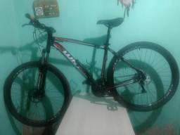"Bicicleta aro 29 ""19"" kit shimano freios hidráulicos"