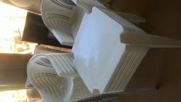 Jogos de mesas e cadeiras plasticas novas inmetro