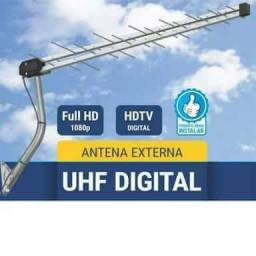 Antena externa UHF HD