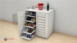 Sapateira para até 40 pares de sapatos!