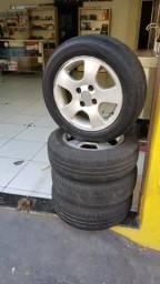 Rodas com pneus 14 590.00