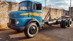 MB 1113 truck ano 1972 turbo, hidráulico, cabine alta