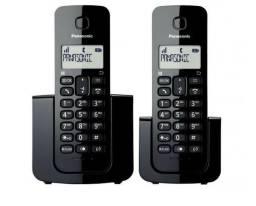 Telefone sem fio Panasonic com 2 MONOFONES!!!