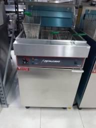 Fritadeira eletrica de 3 cestos jean