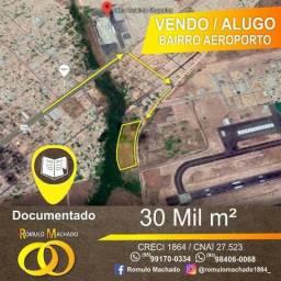 Terreno para Locação ou Venda no bairro Aeroporto