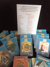 Coleção de DVDs de desenhos biblicos