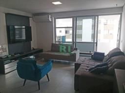 Apartamento na praia, 1 Quadra do mar, Reformado, Pitangueiras, Guarujá.
