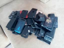 Lote de capas para celulares 200