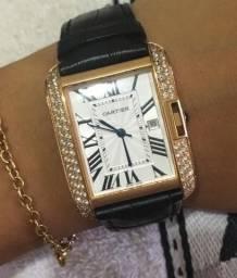 c086e17bcf1 Relógio Cartier feminino