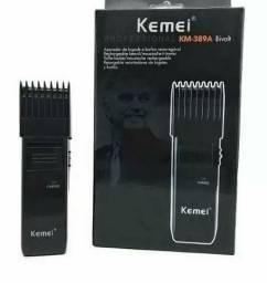 Barbeador Aparador Elétrico Barba Bigode Bivolt Kemei-389a
