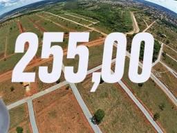lotes em Caldas Novas //// 255.55 seu terreno parcelado