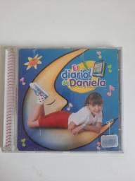 Cd Daniela Lujan El diario de Daniela/ O diário de Daniela versão espanhol