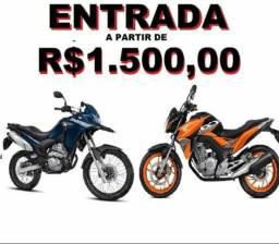 Compre sua moto nova (entrada +parcelas) - 2019