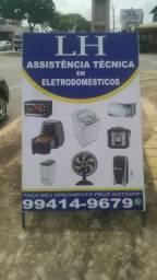 Lh assistência técnica em eletrodomésticos