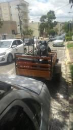 Carreto , Frete, Reboque de motocicleta.