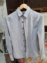 Camisa social manga longa TNG