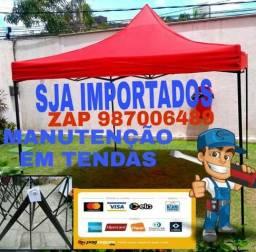 TENDAS SANFONADAS NOVAS HASTES REFORÇADA, usado comprar usado  Olinda