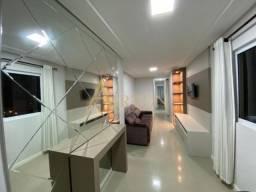 V2096, Apartamento 2 suítes mobiliado no centro de meia praia