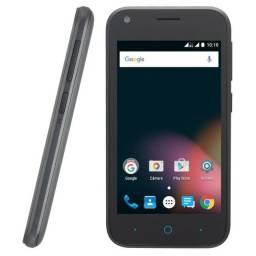Smartphone Zte L110 Dual Sim 3G Tela 4, 4Gb, 5Mp C/ 02 Cap Vitrine