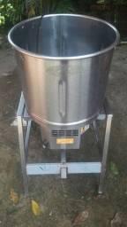 Maquina para descascar alho/batataBECKER