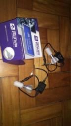 Kit led h3 farol